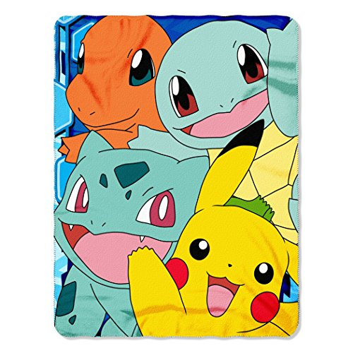 pokemon-meet-the-group-printed-fleece-throw-45-x-60