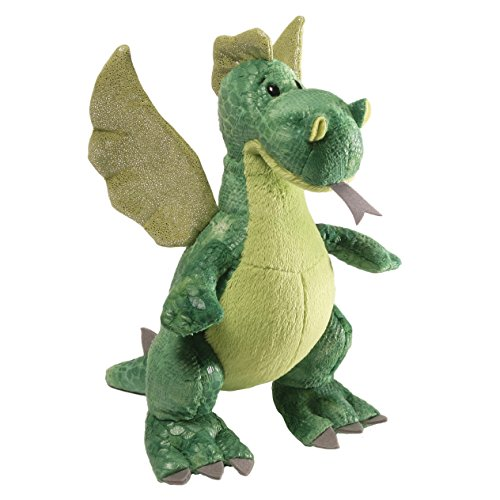 GUND Ember Dragon Stuffed Animal Plush, Gren, 9.5