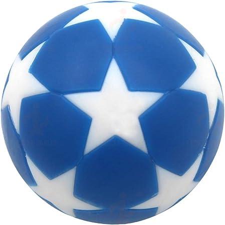 Aardich - Juego de 10 Bolas de futbolín de 32 mm, Color Azul y Blanco: Amazon.es: Hogar