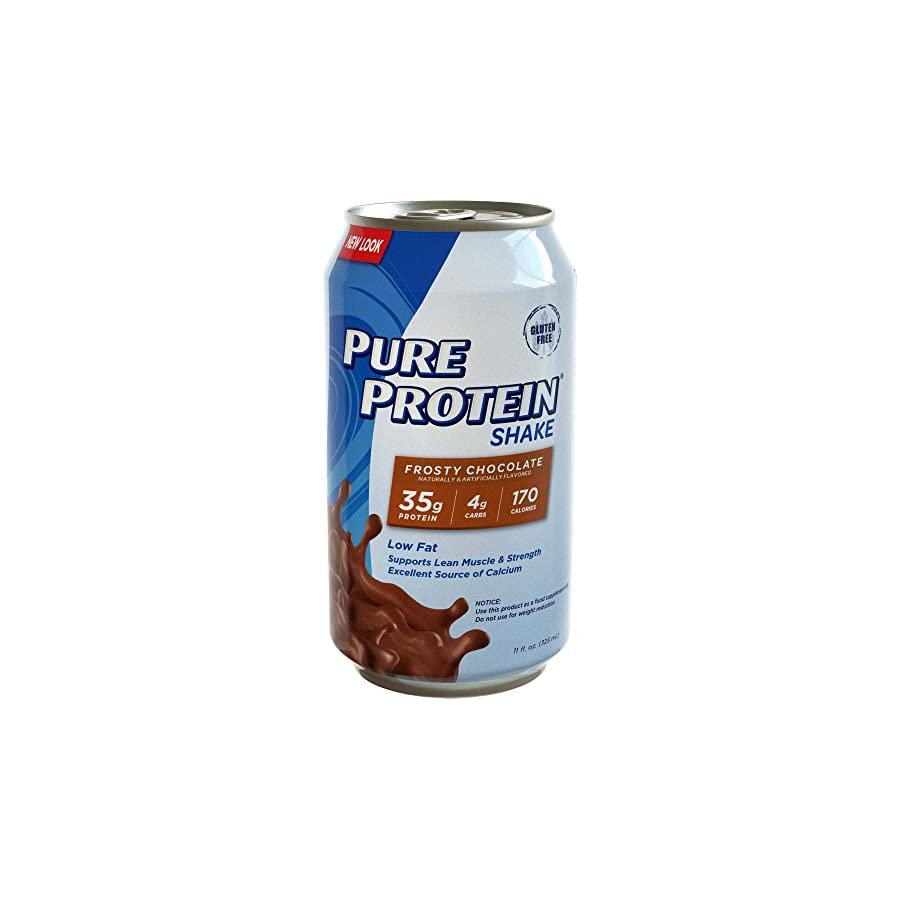 Pure Protein 35g Shake Frosty Chocolate