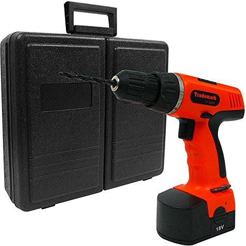 Trademark 78-piece 18-volt Cordless Drill Set