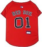 Pets First MLB Boston Red Sox Dog Jersey, Medium