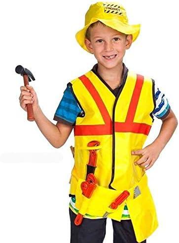 Hkteck - Disfraz obrero: Amazon.es: Juguetes y juegos