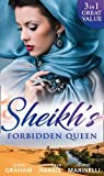 img - for Sheikh's Forbidden Queen: Zarif's Convenient Queen / Gambling with the Crown (Heirs to the Throne of Kyr, Book 1) / More Precious Than a Crown book / textbook / text book