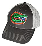 Florida Gators Adjustable Gray Cap Mesh Back Hat