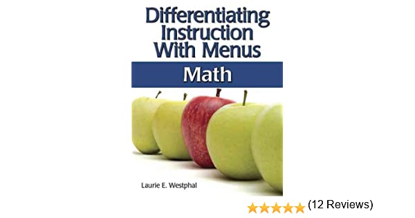 Workbook differentiated instruction worksheets : Amazon.com: Differentiating Instruction With Menus: Science ...