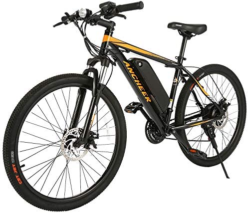 ANCHEER 350 500W Electric Bike 26 27.5 Adults Electric Bicycle Electric Mountain Bike