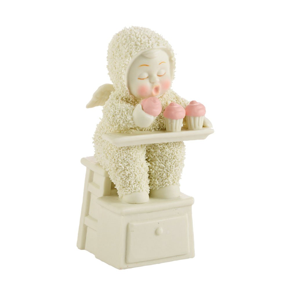 Department 56 Snowbabies Classics Zero Calorie Cupcakes Figurine 4.13-Inch