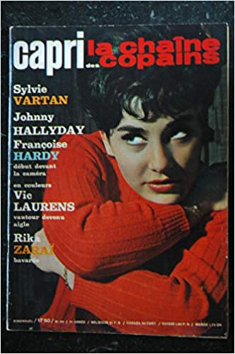 Amazon Fr Capri N 95 1963 Sylvie Vartan Johnny