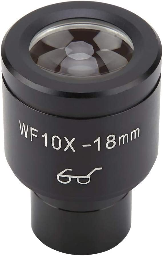 WF10X//18mm Biological Microscope Wide Angle Hight Eyepiont Eyepiece Lens Pangding Microscope Lens