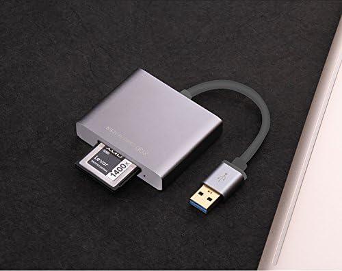 XQD2.0 USB Adapter Professional XQD Card USB3.0 Reader 500MB//s Hi-Speed XQD Card Reader Converter for Sony