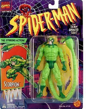 Marvel Comics Spider-Man The New Animated Series Scorpion