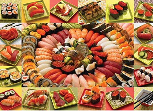 Cobblehill 50708 2000 pc Plenty of Sushi Puzzle, Various