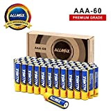 ALLMAX All-Powerful Alkaline Batteries - AAA 60 Pack (Premium Grade) - Ultra Long Lasting and Leak-Proof, Powered by EnergyCircle Technology