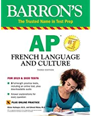 AP French Language and Culture with Online Practice Tests & Audio