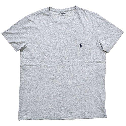 Polo Ralph Lauren Herren Rundhals Shirt T-Shirt grau meliert Größe L