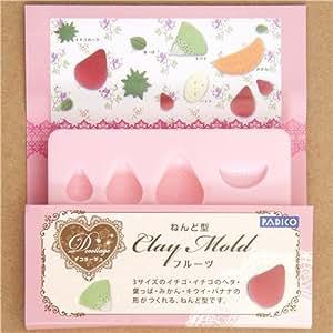 Molde para frutas de plastilina de Japón