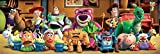 "Toy Story 3 - Pixar Door Movie Poster (The Complete Cast) (Size: 62"" x 21"")"