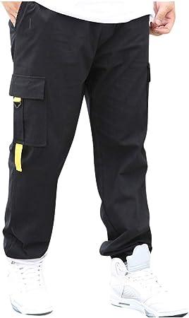 PLENTYTOP Pantalon De Travail Homme Jeans Skinny en Jean /à La Mode en Jean /éLastique Pantalon Baggy Homme