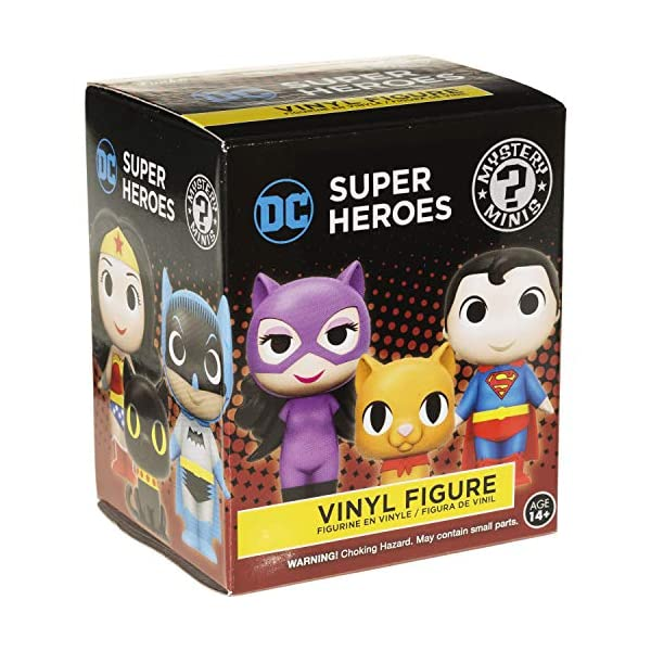 516a9wDG9zL Supergirl: 2.7in Funko Mystery Minis Vinyl Figure Bundle with 1 Compatible 'ToysDiva' Graphic Protector (11346 - B)