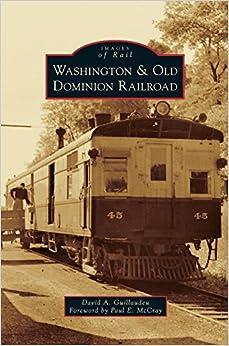 Book Washington & Old Dominion Railroad