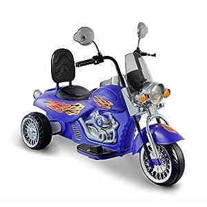 Kid Motorz Motorbike 6V Vehicle, Blue