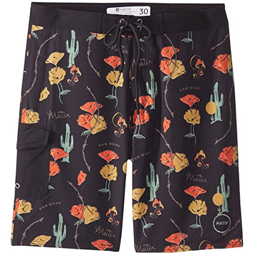Matix Men's Vacation 20'' Shorts,34,Far West/Black - Short Matix Clothing
