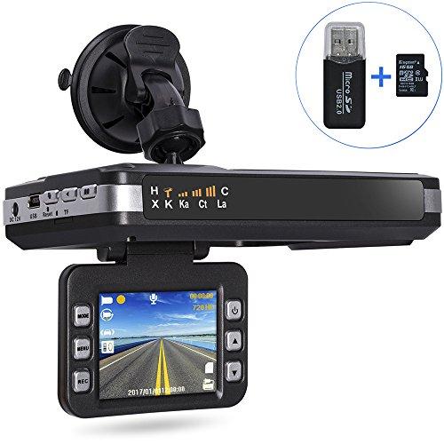Aisino Dash Camera, 2 in 1 Radar Speed - Radar And Camera Detector