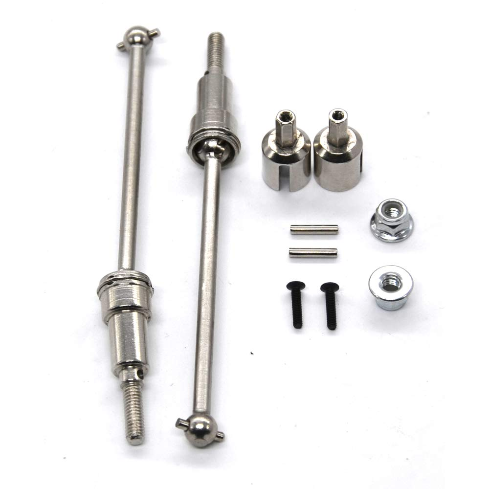 Aluminum Alloy Assembled Springs Damper for 1//12 HBX 4WD RC Cars Upgrades Option Parts P//N:12204 Tecesy Shock Absorber Rear