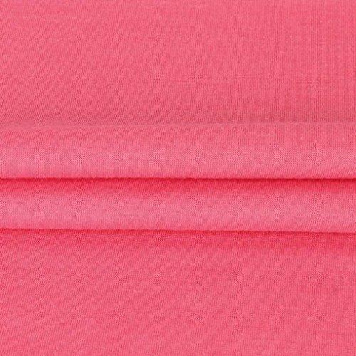 Rond Xmiral Longues Pastque Fleurs Femme Body Chemisier Rouge Col Chemise Manches XUTagnUq