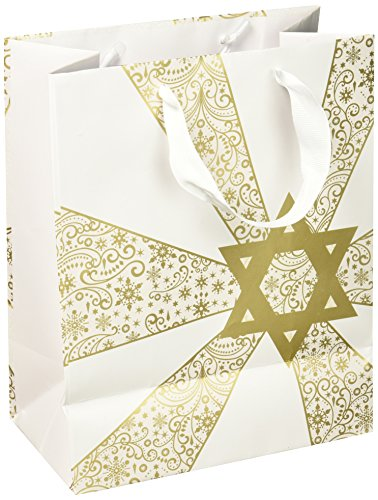 Hallmark Tree of Life Medium Hanukkah Gift Bag (Star of David)