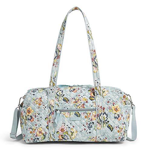 "Vera Bradley Women's Signature Cotton Travel Duffel Bag, Floating Garden, Small 18"""