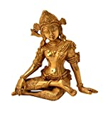 Decorative Statue of Indra dev handicrafts Product by Bharat HaatBH06208