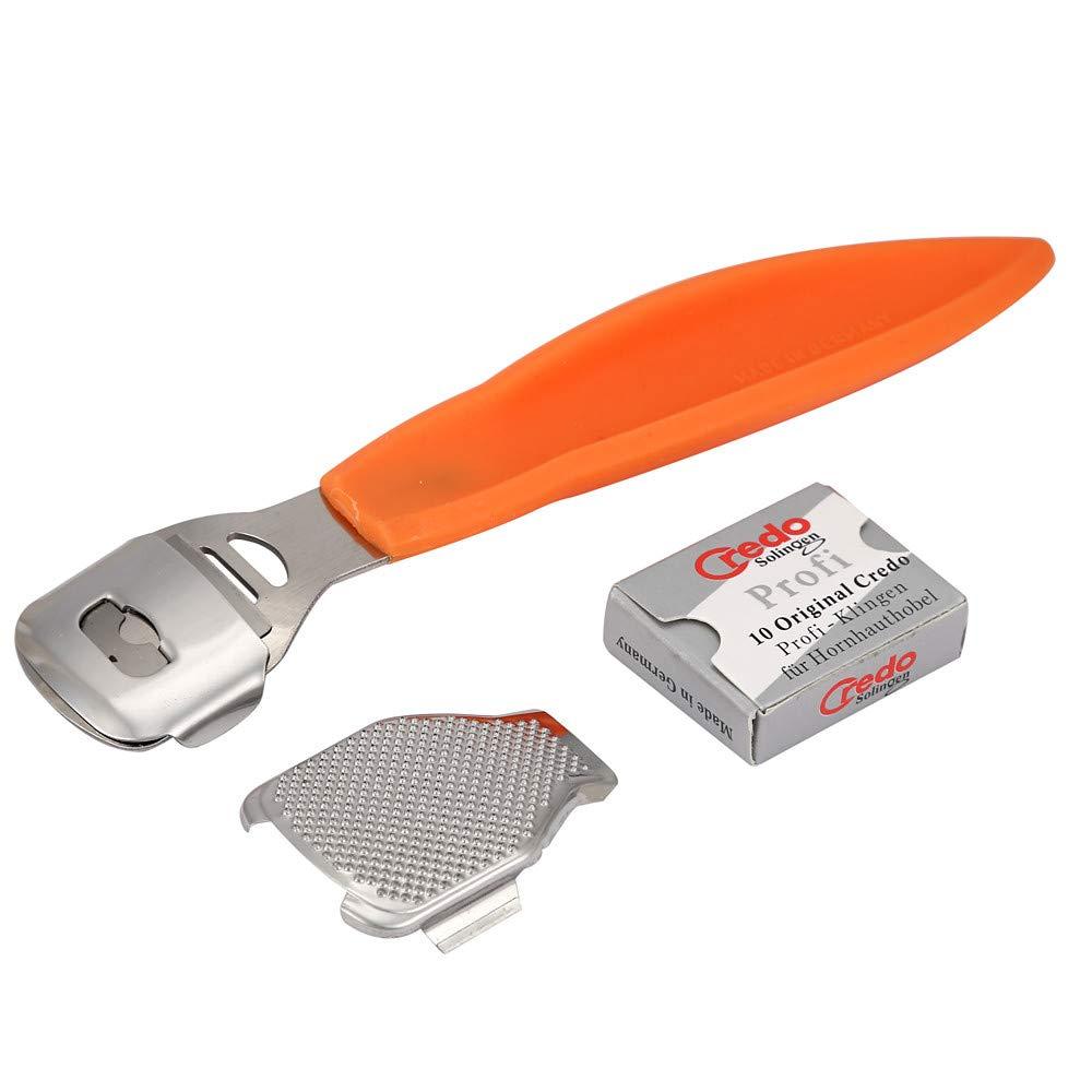 Skin Shaver Corn Cuticle Cutter Remover Rasp Pedicure File Foot Callus 10 Blades