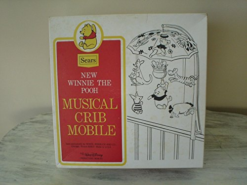 Sears Winnie the Poh Musical Crib Mobile Vintage ()