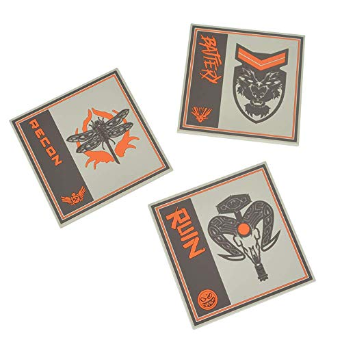Official Call of Duty Black Ops 4 Silicone Coasters (3 Pack) ()