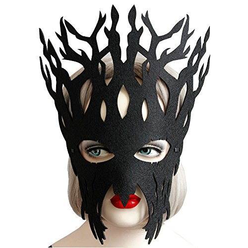 Masquerade Mardi Gras Party Tree Mask Halloween Party Costume -