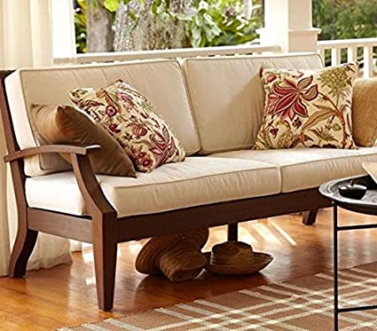 Superb Bl Wood Sheesham Wood Furniture Mayor 5 Seater Sofa Set For Living Room Brown Standard Inzonedesignstudio Interior Chair Design Inzonedesignstudiocom