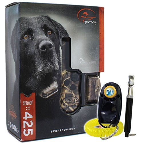 (SportDog - SD-425 - Camo WetlandHunter for Large or Stubborn Dog Waterproof Shock Training)