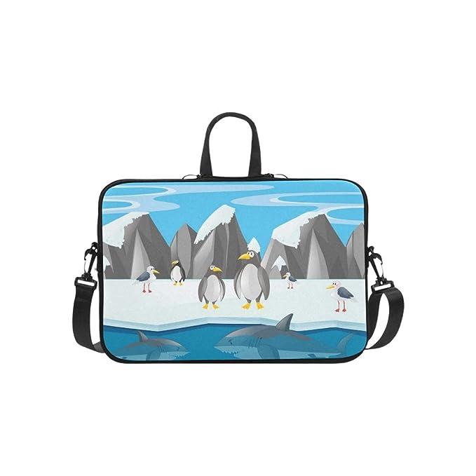 Pingüinos Otros Animales Maletín del Polo Norte Bolso para Laptop ...