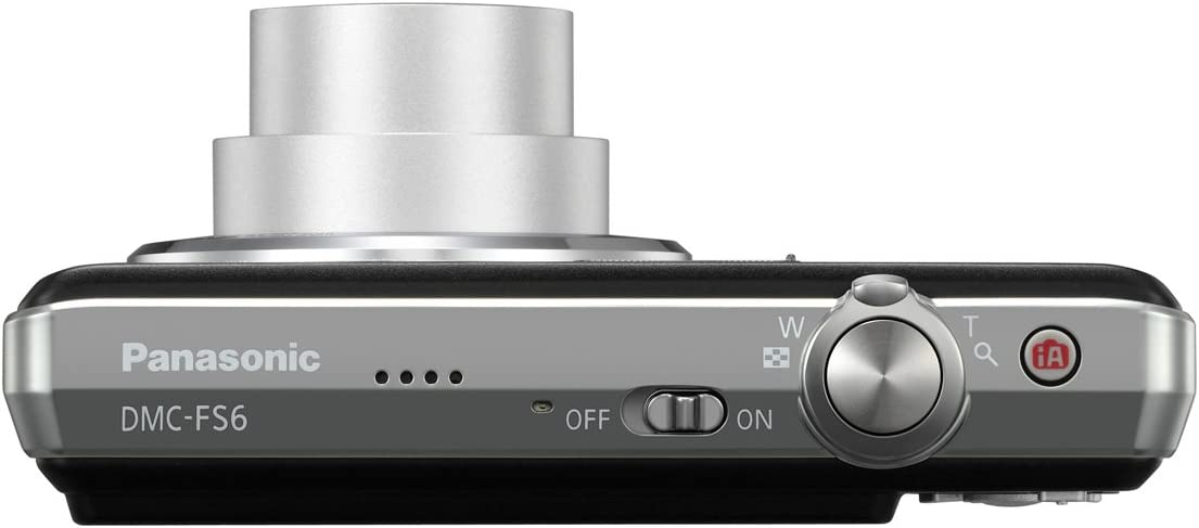 Panasonic Lumix Dmc Fs6 Digitalkamera 2 5 Zoll Schwarz Kamera