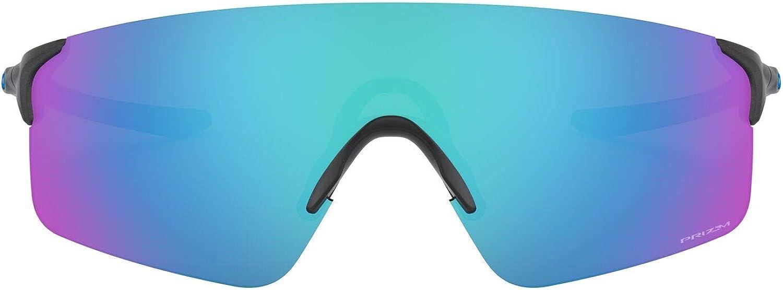 Oakley Men's Oo9454 Evzero Blades Shield Sunglasses Rectangular
