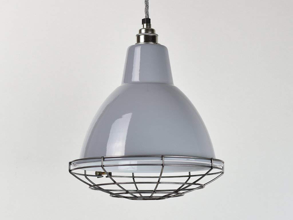 Domed Dove - Lámpara de techo, esmalte industrial, estilo ...