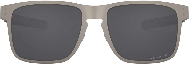 Oakley Oo4123 Holbrook - Gafas de sol cuadradas de metal para hombre
