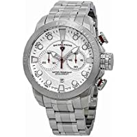 Swiss Legend Seagate Chronograph Silver Dial Watch SL-10624SM-22S