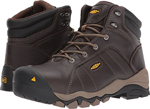 "KEEN Utility Women's Santa Fe 6"" AT Industrial and Construction Shoe, Cascade Brown, 8.5 W US"
