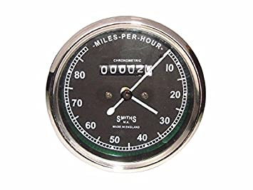 Enfield County Replica Smith Speedometer Speedo 80 Mph Royal Enfield