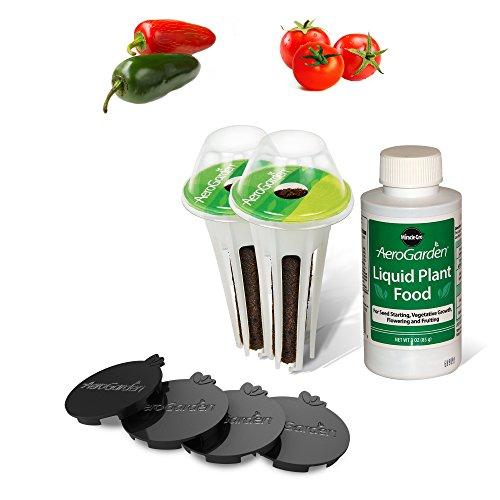 Miracle-Gro AeroGarden Salsa Garden Seed Pod Kit for 6 Pod (Salsa Seed Kit)