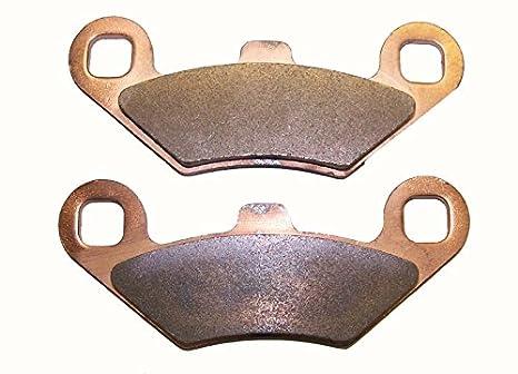 FRONT REAR BRAKE PADS FITS POLARIS BIG BOSS 250 4X6 6X6 1989 1990 1991 1992