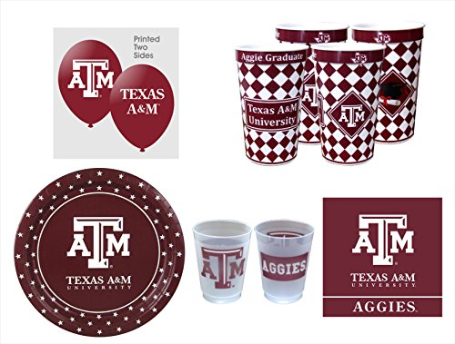 Texas A&M Aggies GRADUATION Party Pack - 57 -